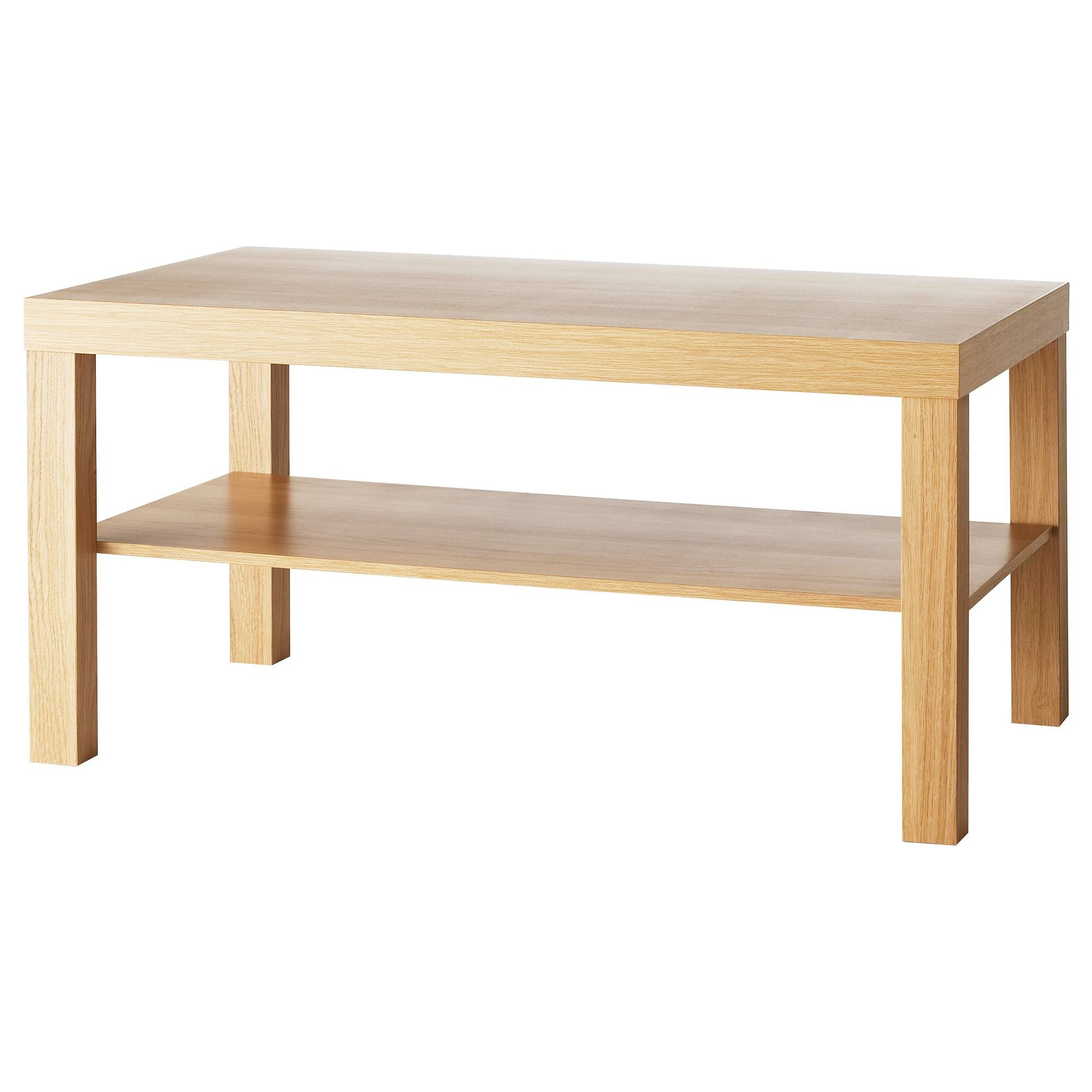 Lack Coffee Table Oak Effect 90X55 Cm - Ikea with High Coffee Tables (Image 13 of 15)