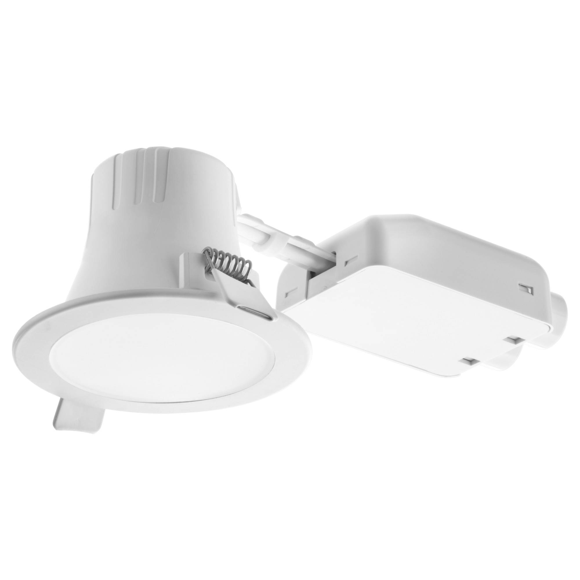 Lakene Led Recessed Spotlight Opal White – Ikea Regarding Ikea Recessed Lighting (View 9 of 15)