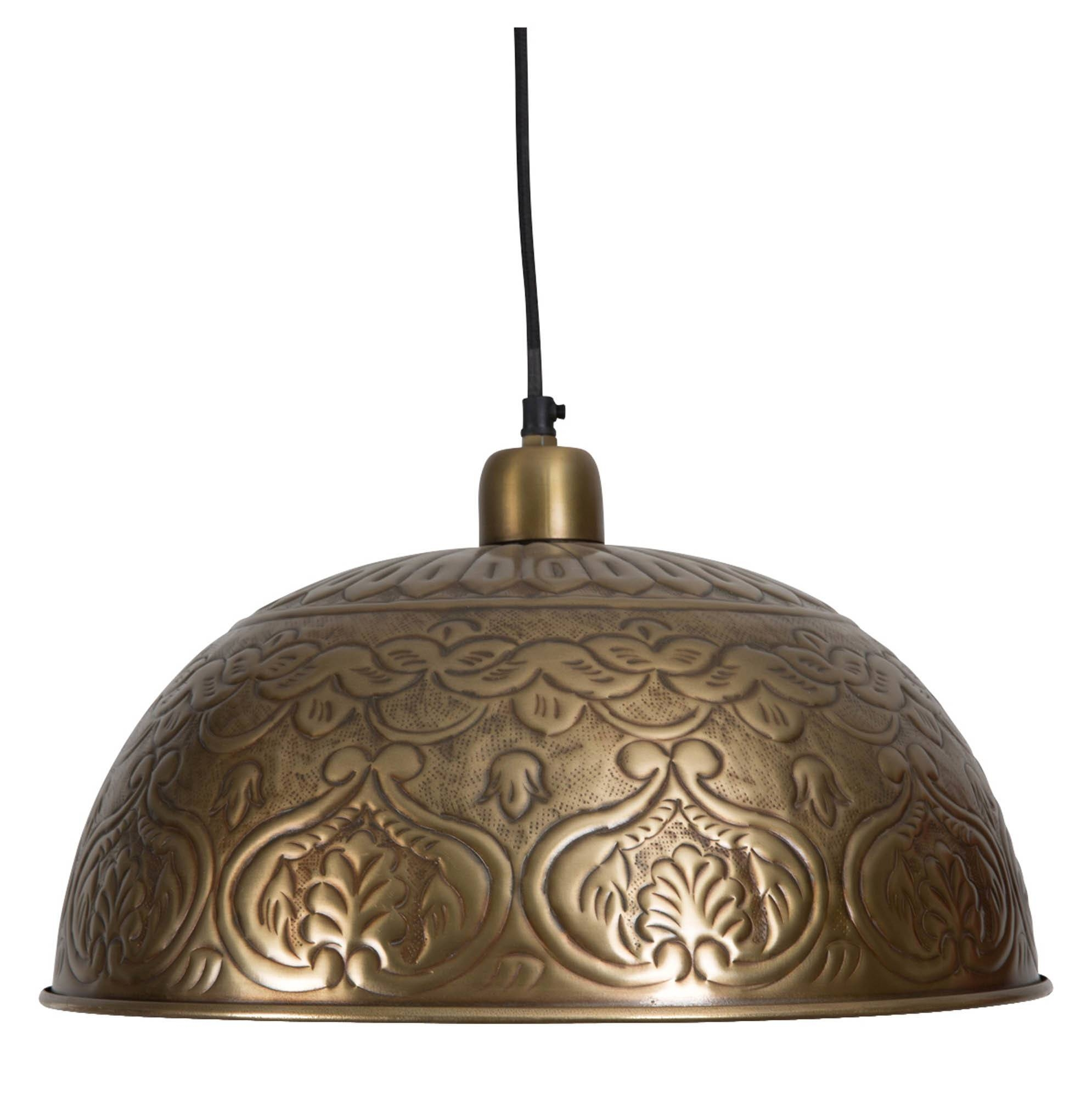Lamp: Bohemian Lamp | Moroccan Pendant Light | Farmhouse Light regarding Hammered Pendant Lights (Image 7 of 15)