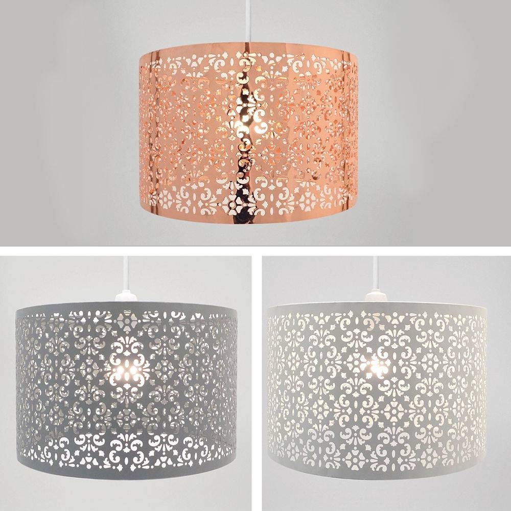 Lamp: Moroccan Pendant Light Fixtures That Will Transform Your intended for Punched Metal Pendant Lights (Image 5 of 15)