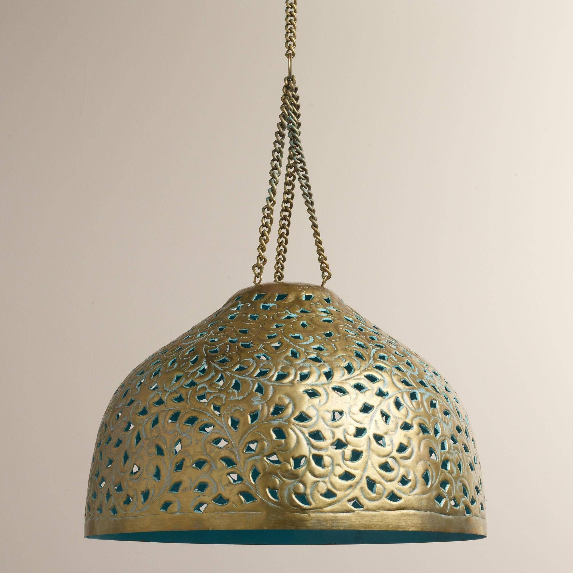 Lamp: Moroccan Pendant Light Fixtures That Will Transform Your pertaining to Moroccan Style Lights Shades (Image 8 of 15)