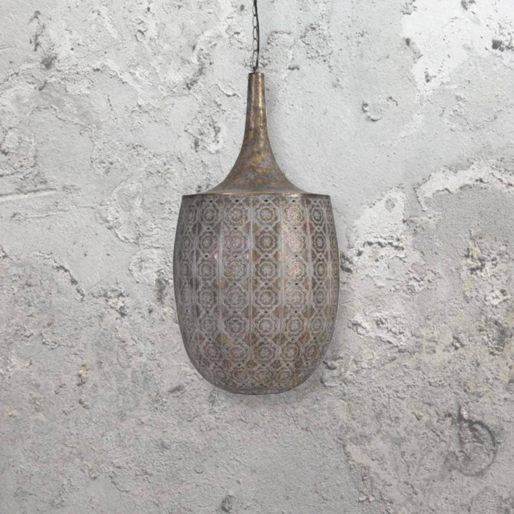 Lamp: Moroccan Pendant Light Fixtures That Will Transform Your with regard to Moroccan Punched Metal Pendant Lights (Image 8 of 15)