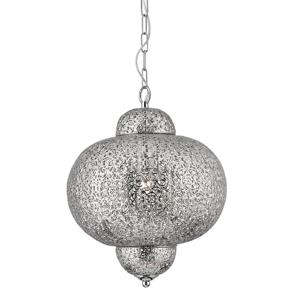 Lamp: Moroccan Pendant Light Fixtures That Will Transform Your with regard to Moroccan Punched Metal Pendant Lights (Image 7 of 15)