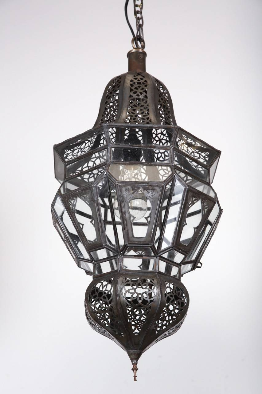 Lamp: Moroccan Pendant Lights | Moroccan Light Fixture | Moroccan with Moroccan Punched Metal Pendant Lights (Image 9 of 15)