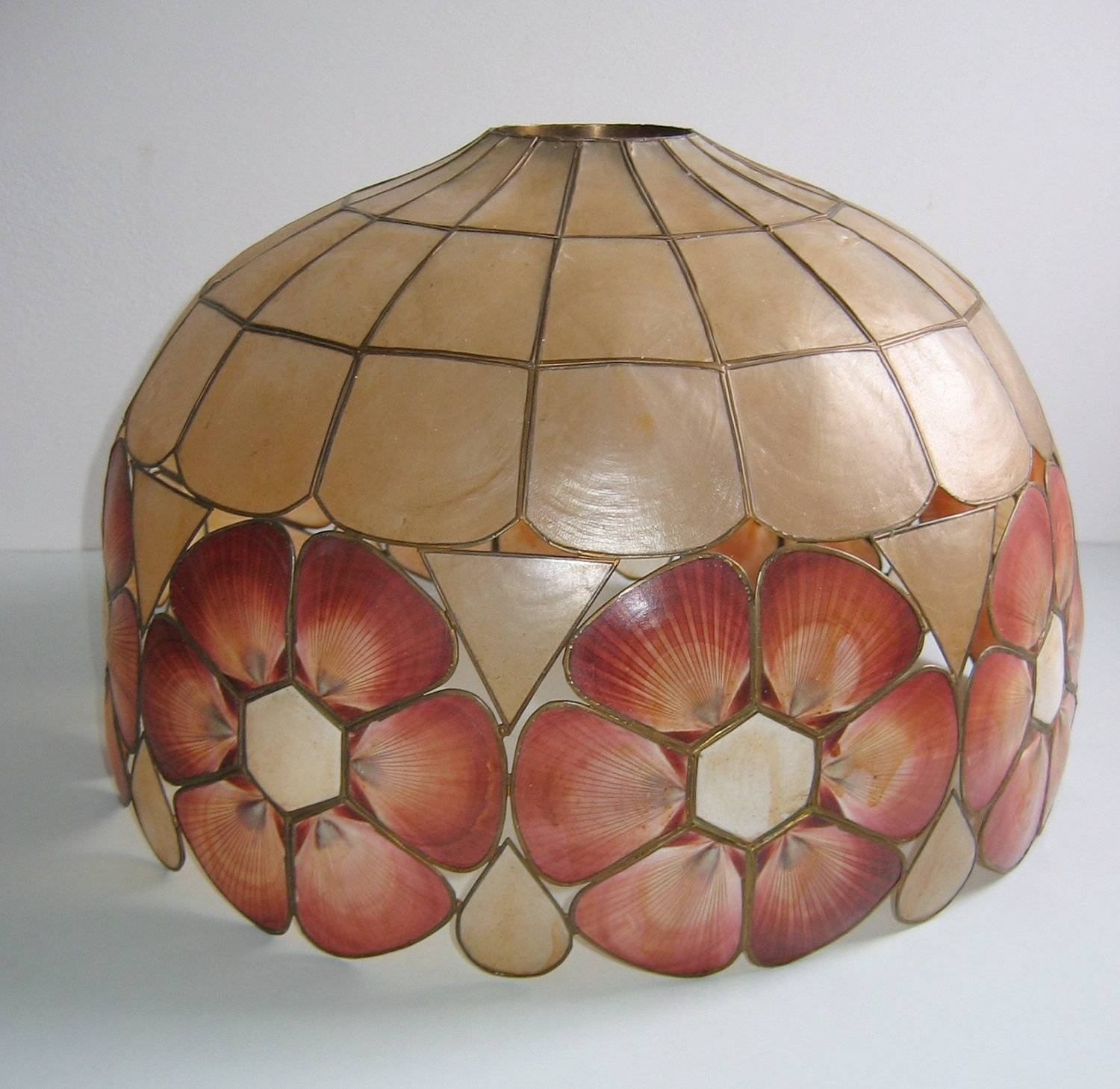 Lamp Shades: Most Creative Shell Lamp Shade Design Ideas Gallery with regard to Shell Lights Shades (Image 9 of 15)