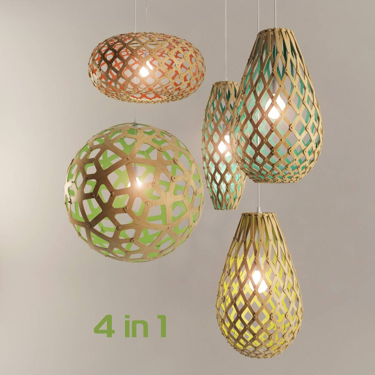 Lamp Vibia Stage 3D 3Ds in Coral Pendant Lights (Image 9 of 15)