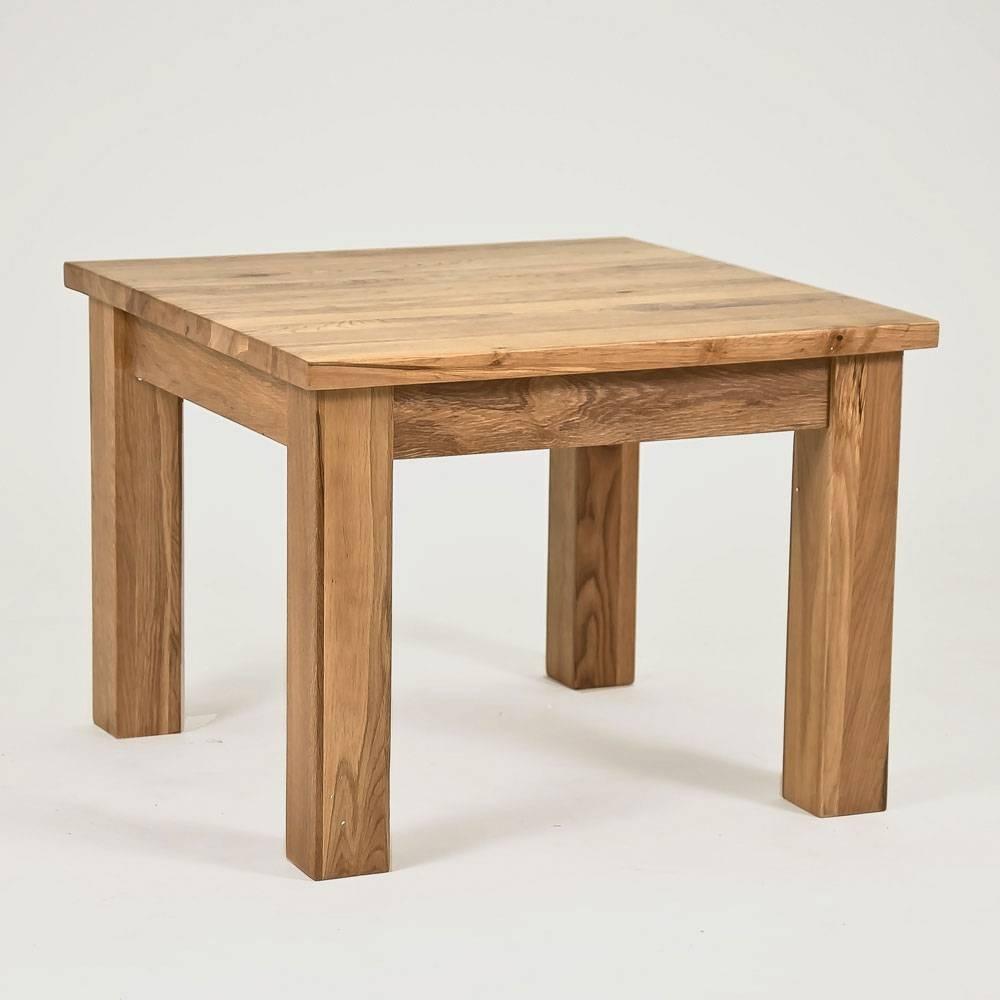 Lansdown Oak Square Coffee Table – Size: 600Mm Inside Square Coffee Table Oak (View 6 of 15)