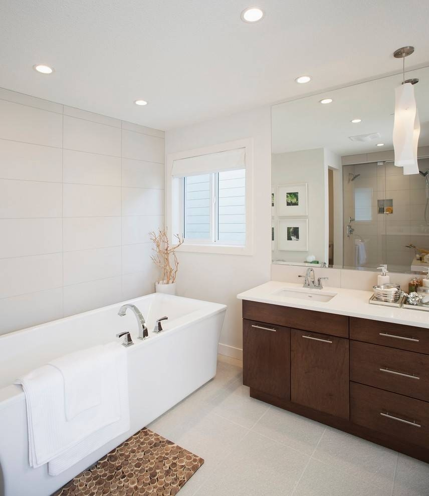 Large Bathroom Mirror Frameless – Harpsounds (View 8 of 15)