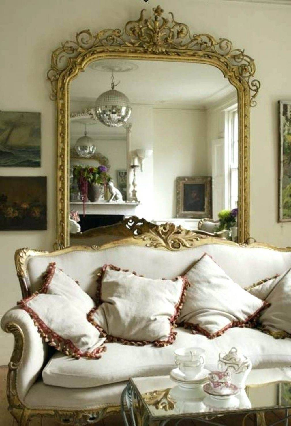 Large Gold Mirrors – Amlvideo with regard to Large Gold Antique Mirrors (Image 12 of 15)