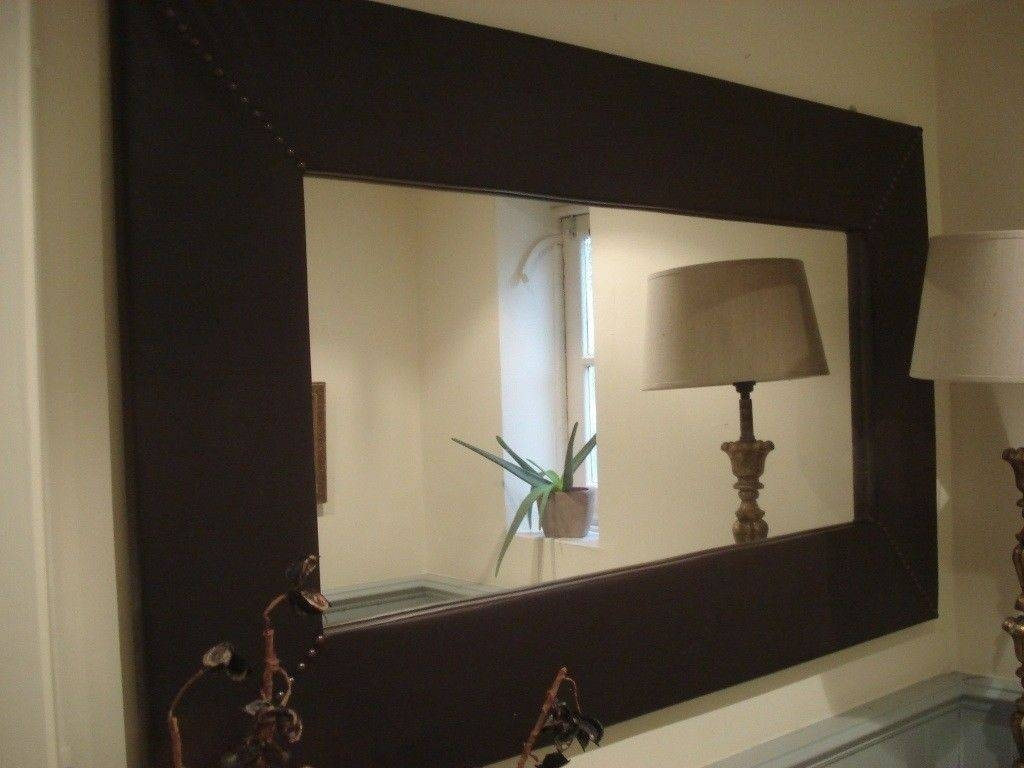Large Leather Mirror | In Winchester, Hampshire | Gumtree Throughout Large Leather Mirrors (View 10 of 15)