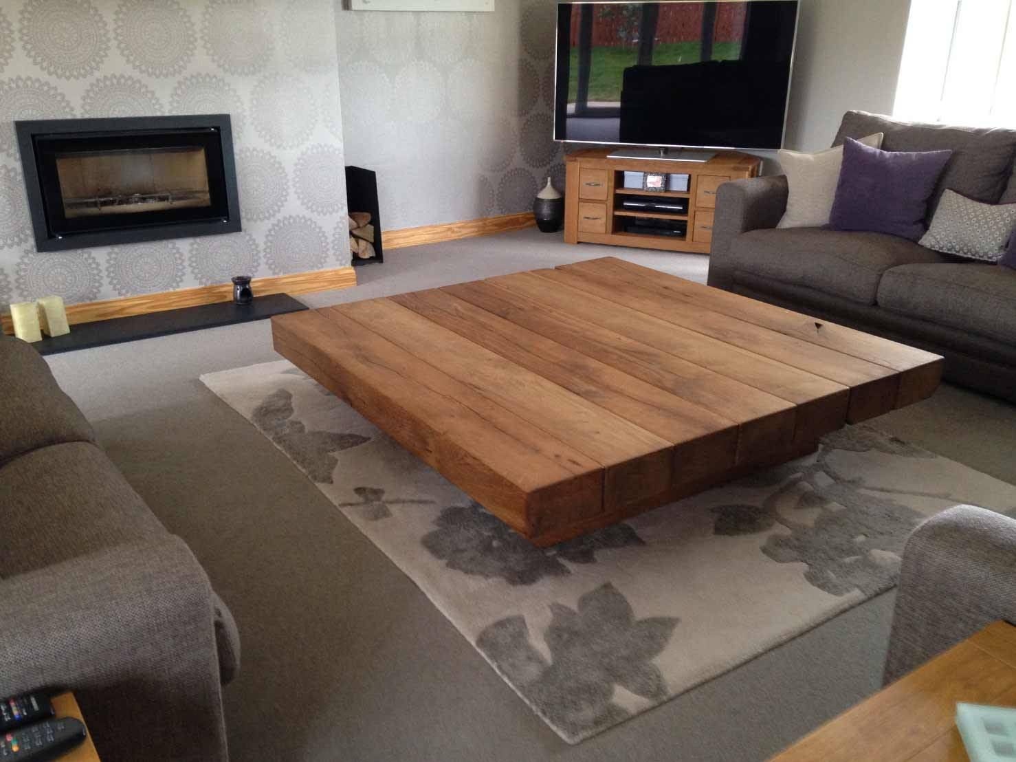 Large Low Coffee Table | Abacus Tables pertaining to Low Oak Coffee Tables (Image 10 of 15)
