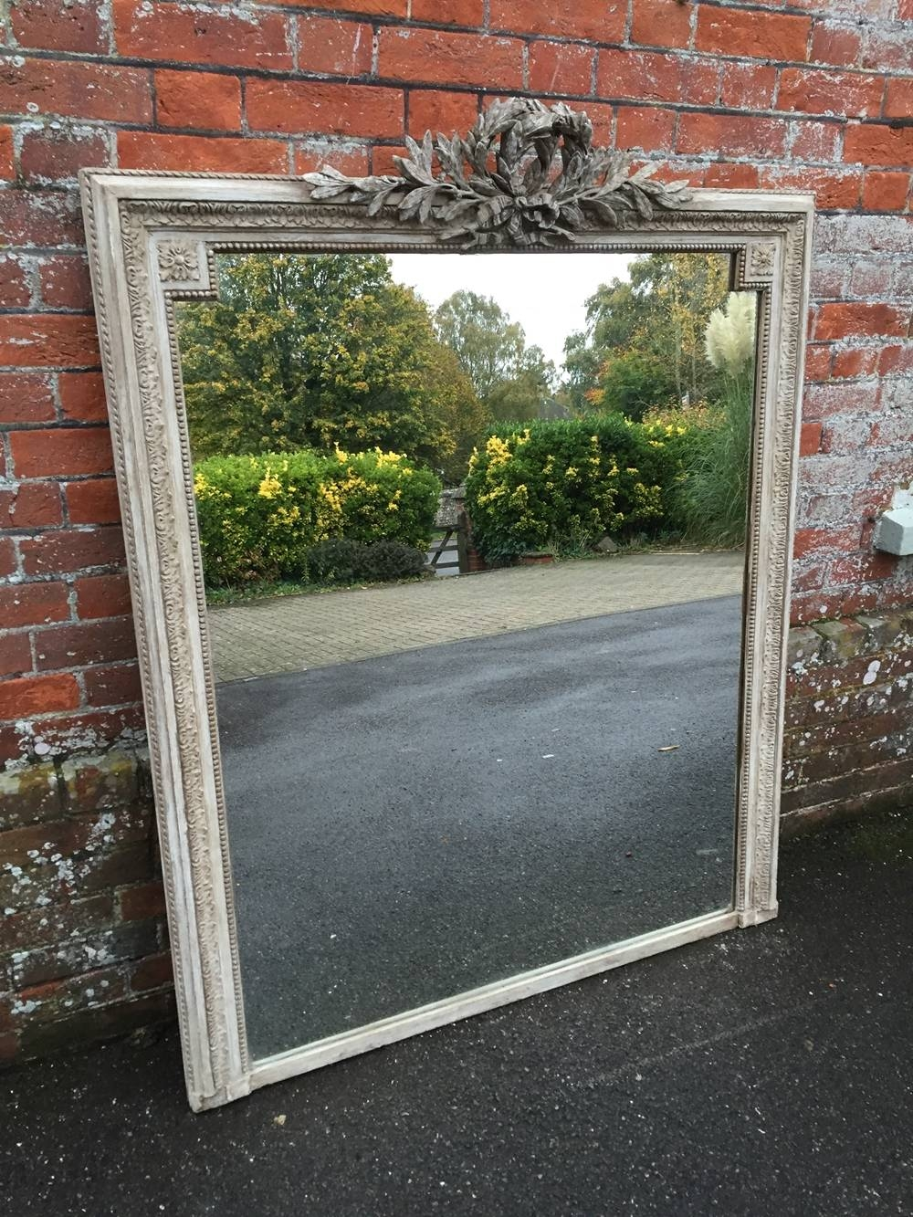 Large Overmantle Mirrors Uk - Antique Overmantle Mirrors For Sale with regard to Large Mantel Mirrors (Image 12 of 15)