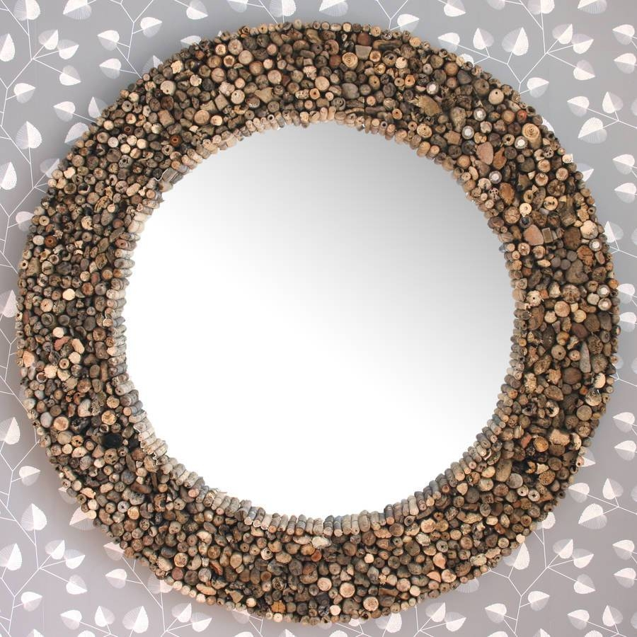 Large Round Driftwood Mirrordecorative Mirrors Online Pertaining To Large Round Wooden Mirrors (View 8 of 15)