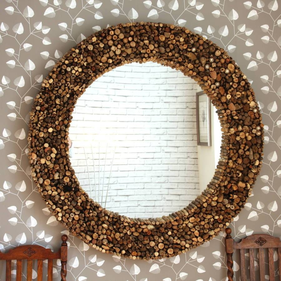 Large Round Driftwood Mirrordecorative Mirrors Online With Regard To Decorative Mirrors (View 8 of 15)