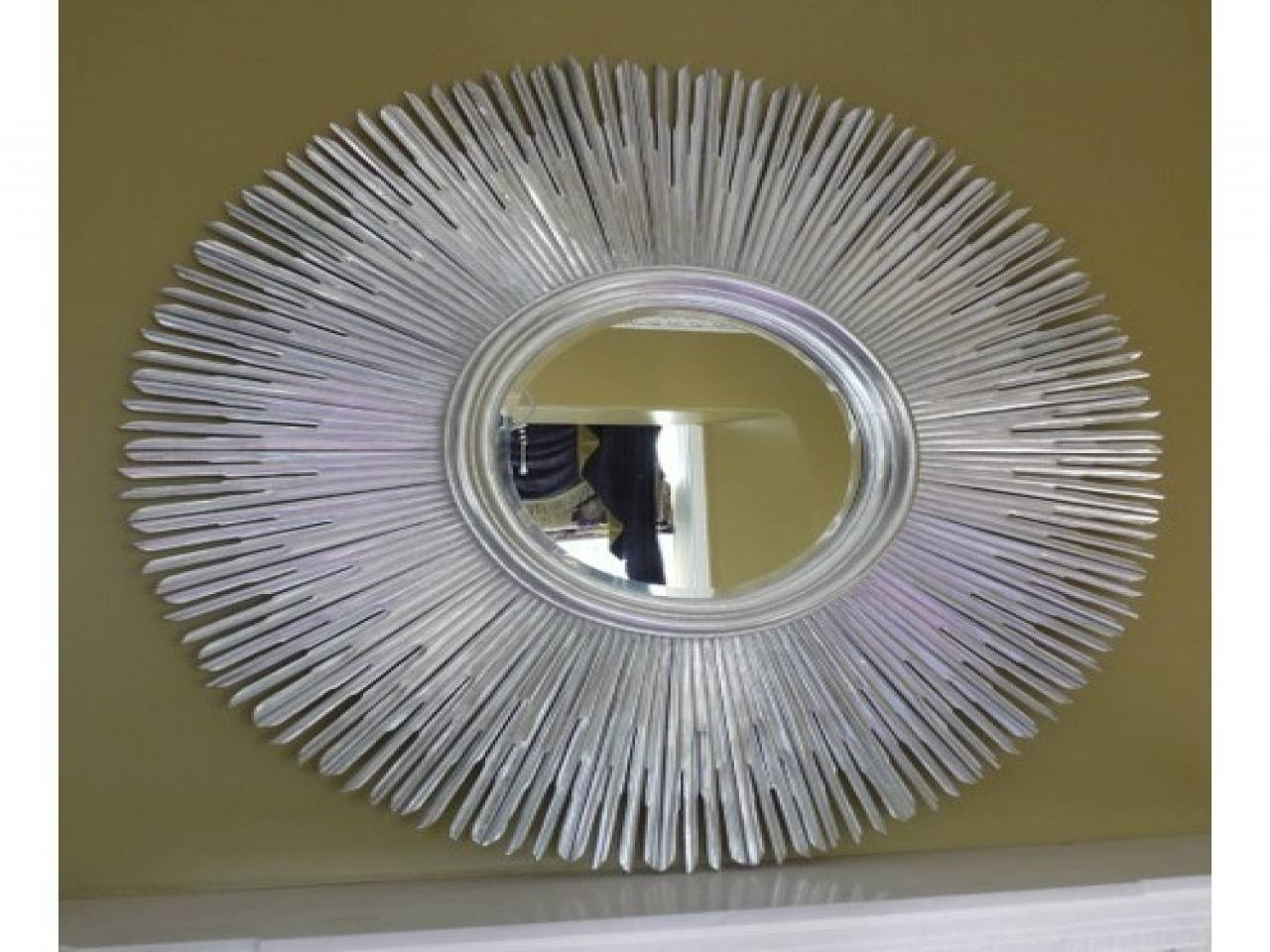 Featured Photo of Large Round Silver Mirrors