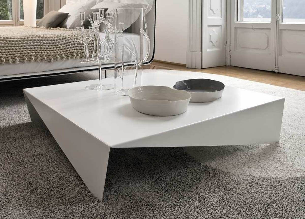 Large Square Coffee Table White - Coffee Addicts for Large Modern Coffee Tables (Image 11 of 15)