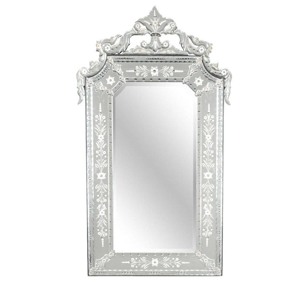 Large Venetian Mirror At 1Stdibs in Black Venetian Mirrors (Image 9 of 15)