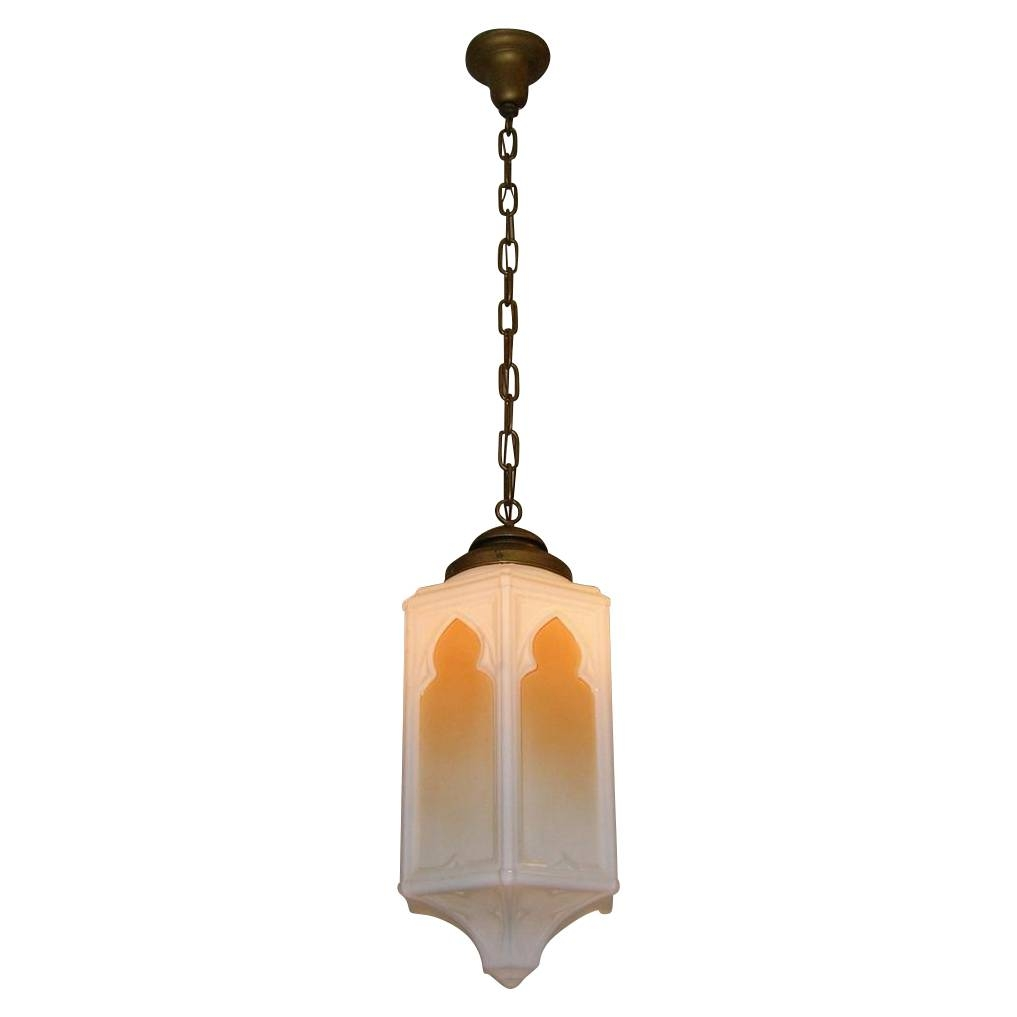 Large Vintage Church Pendant Light Fixture From Loftylighting On within Church Pendant Lights (Image 9 of 15)