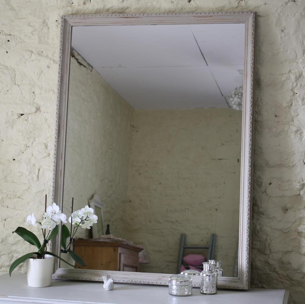 Large Vintage Rectangular Mirror | Mirrors | Furniture in Vintage Large Mirrors (Image 5 of 15)