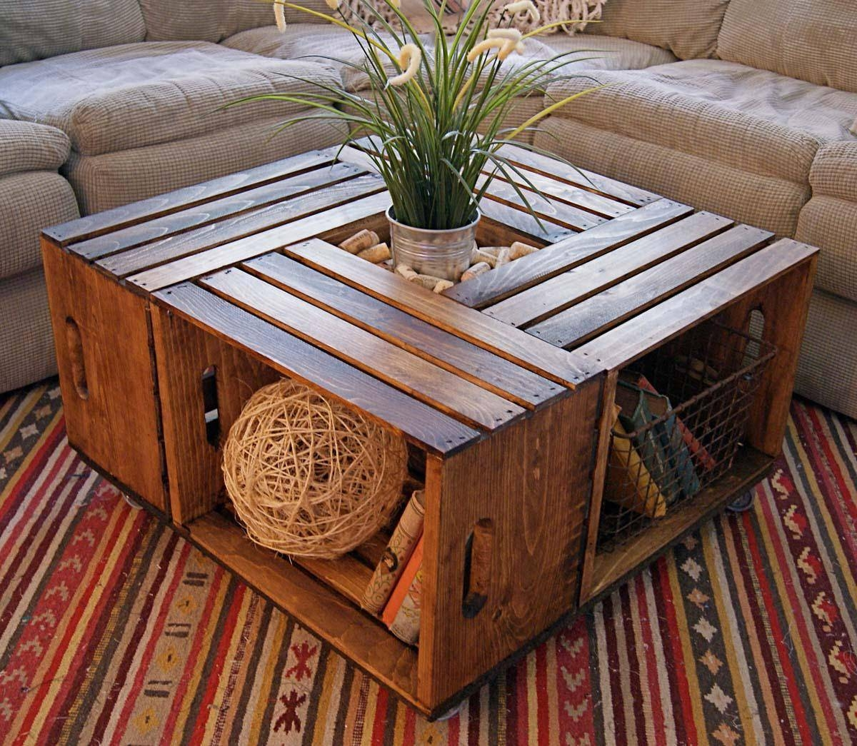 Large Wooden Coffee Table regarding Large Wood Coffee Tables (Image 10 of 15)
