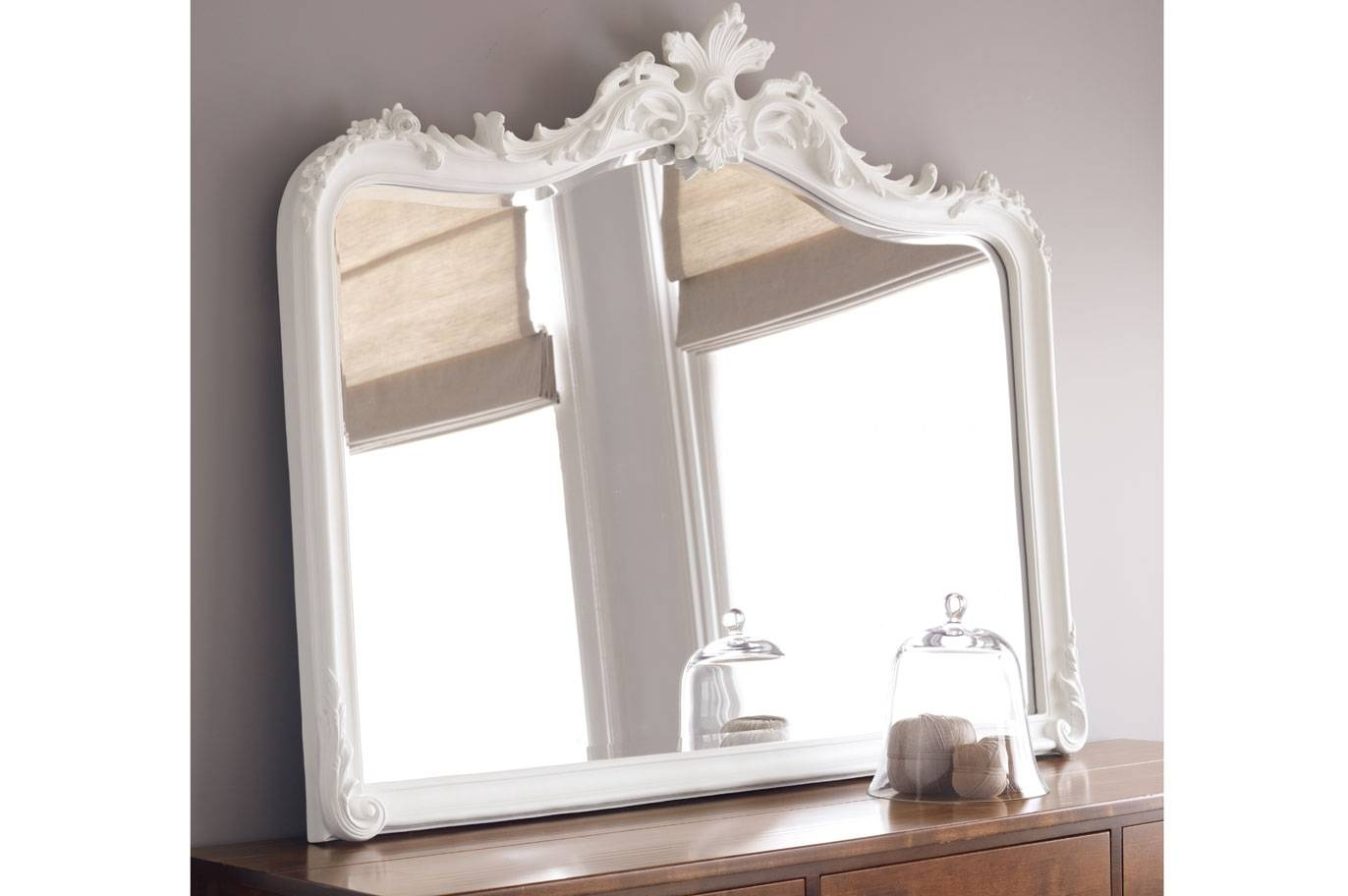 Laura Ashley Within White Overmantle Mirrors (View 13 of 15)