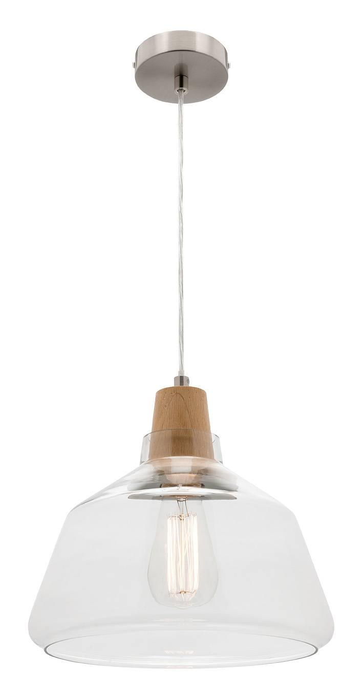 Laya Timber Large Pendant Light With Glass Shade Mercator Mg6531L within Mercator Pendant Lights (Image 8 of 15)