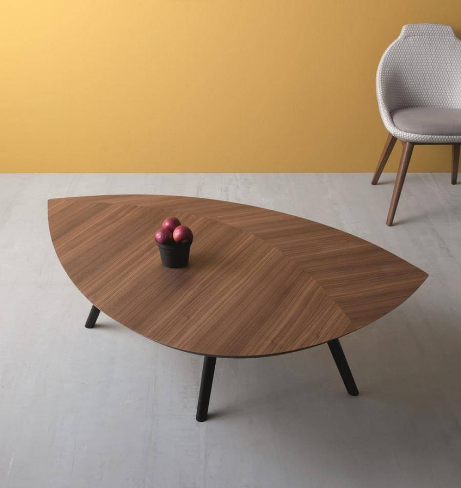 Leafcompar, Walnut Coffee Table| Trendy Products.co.uk throughout Contemporary Oak Coffee Table (Image 13 of 15)