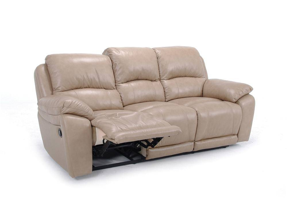 Leather Dual Reclining Sofa in Cheers Recliner Sofas (Image 6 of 15)