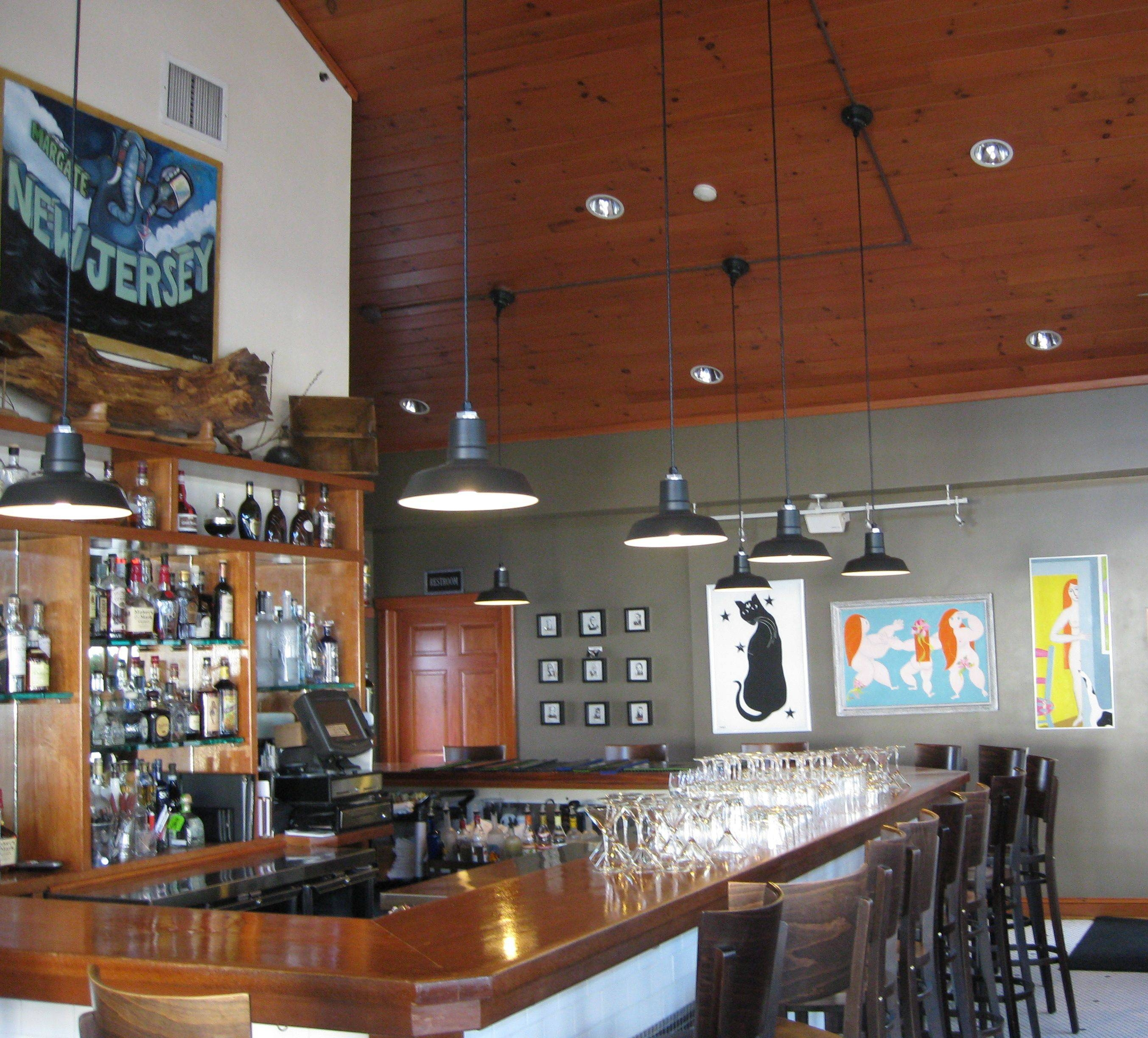 Led Barn Pendants Bring Charm, Savings To Jersey Oyster Bar | Blog with Restaurant Pendant Lights (Image 8 of 15)