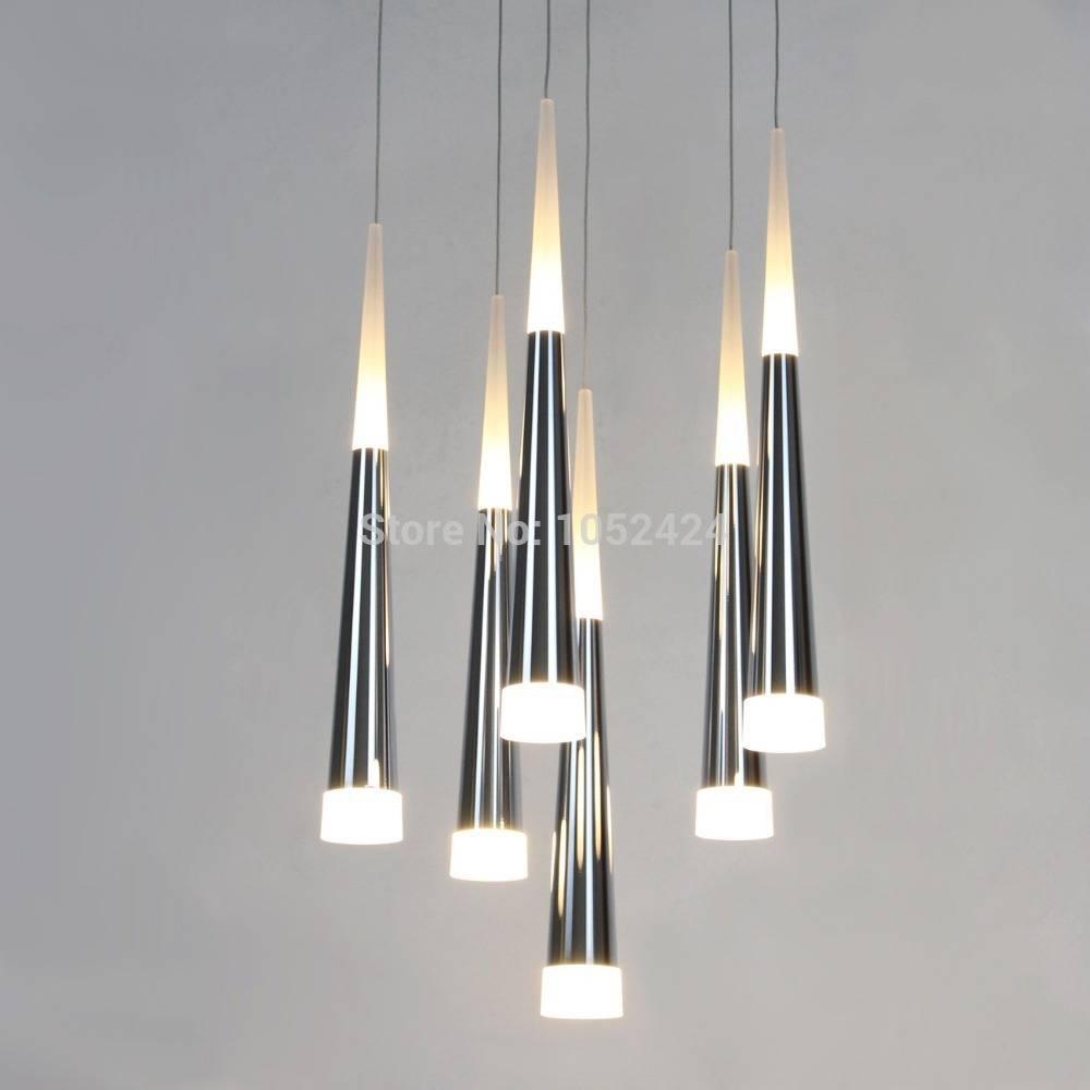Led Light Design: Led Pendant Lighting Fixtures For Kitchen pertaining to Stainless Steel Kitchen Pendant Lights (Image 9 of 15)