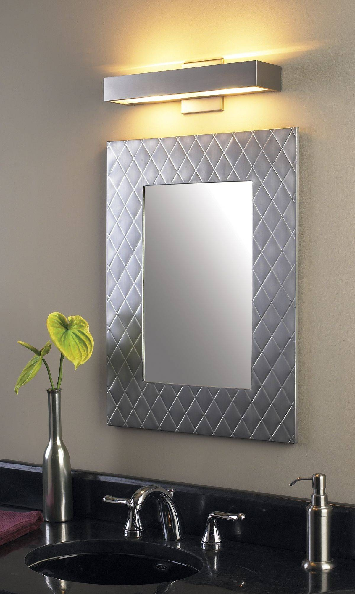 Led Lights For Mirrors 22 Inspiring Style For Wall Lights Bathroom intended for Wall Light Mirrors (Image 8 of 15)