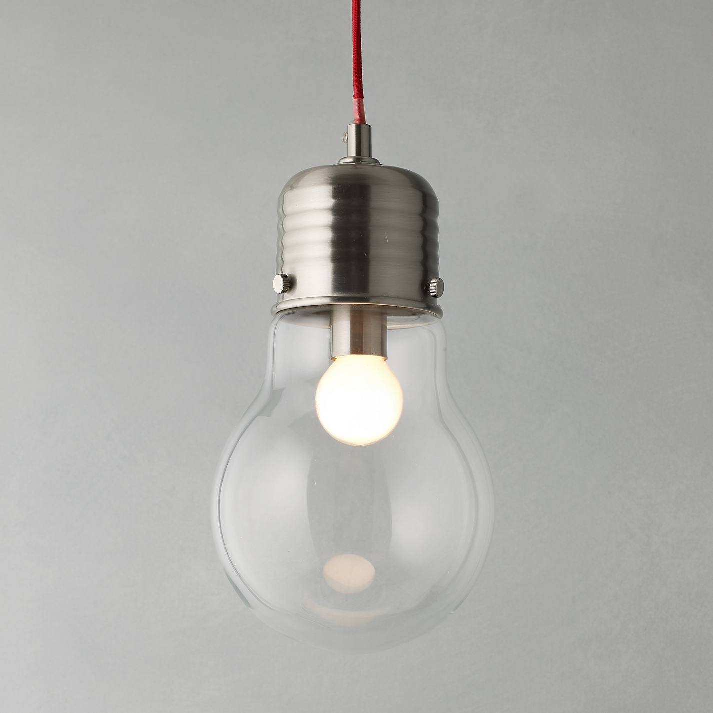 Light Bulb Pendant - Baby-Exit intended for John Lewis Lighting Pendants (Image 12 of 15)