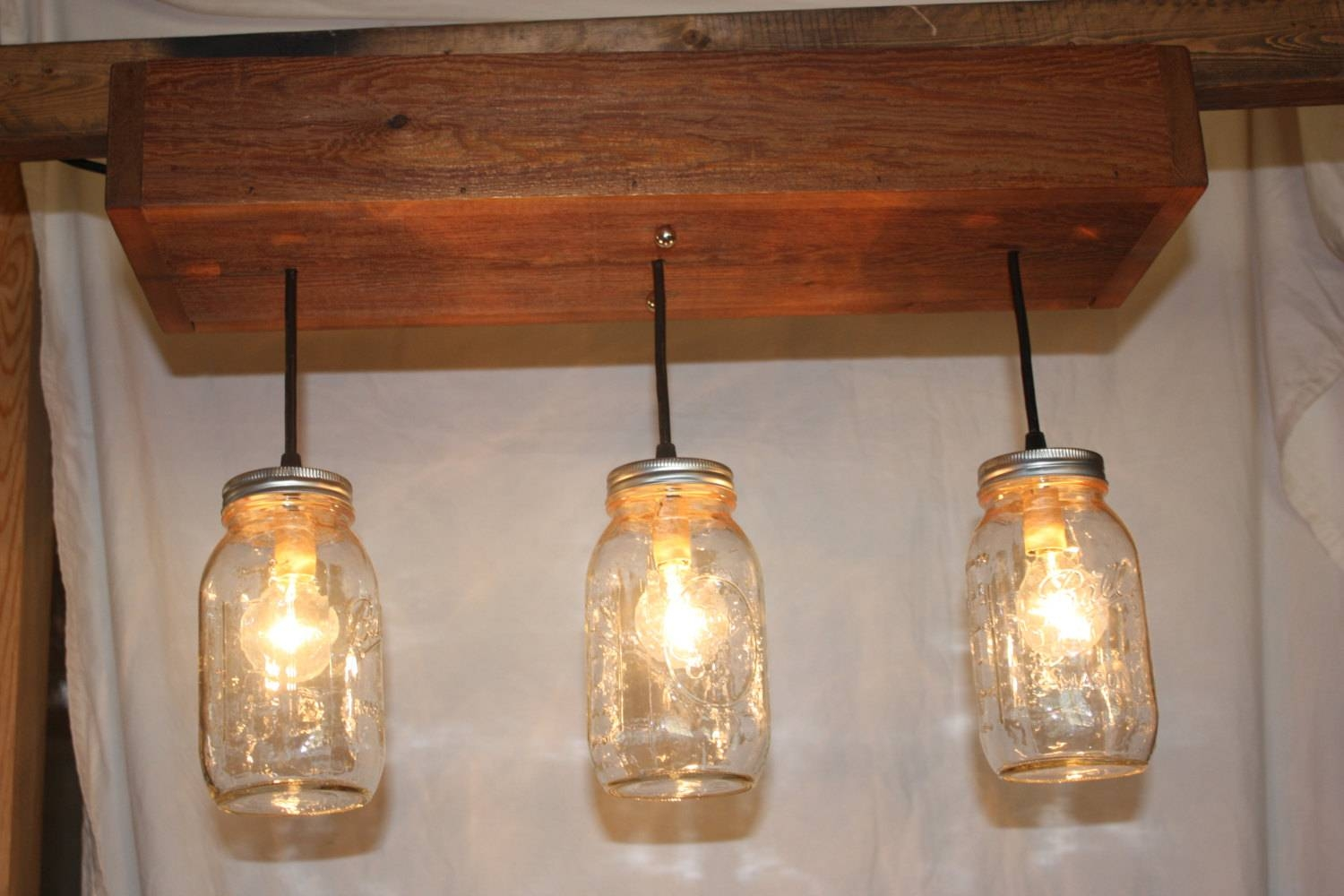 Light Fixtures: Mason Jar Light Fixtures Ideas Sample Detail for Blue Mason Jar Lights Fixtures (Image 7 of 15)
