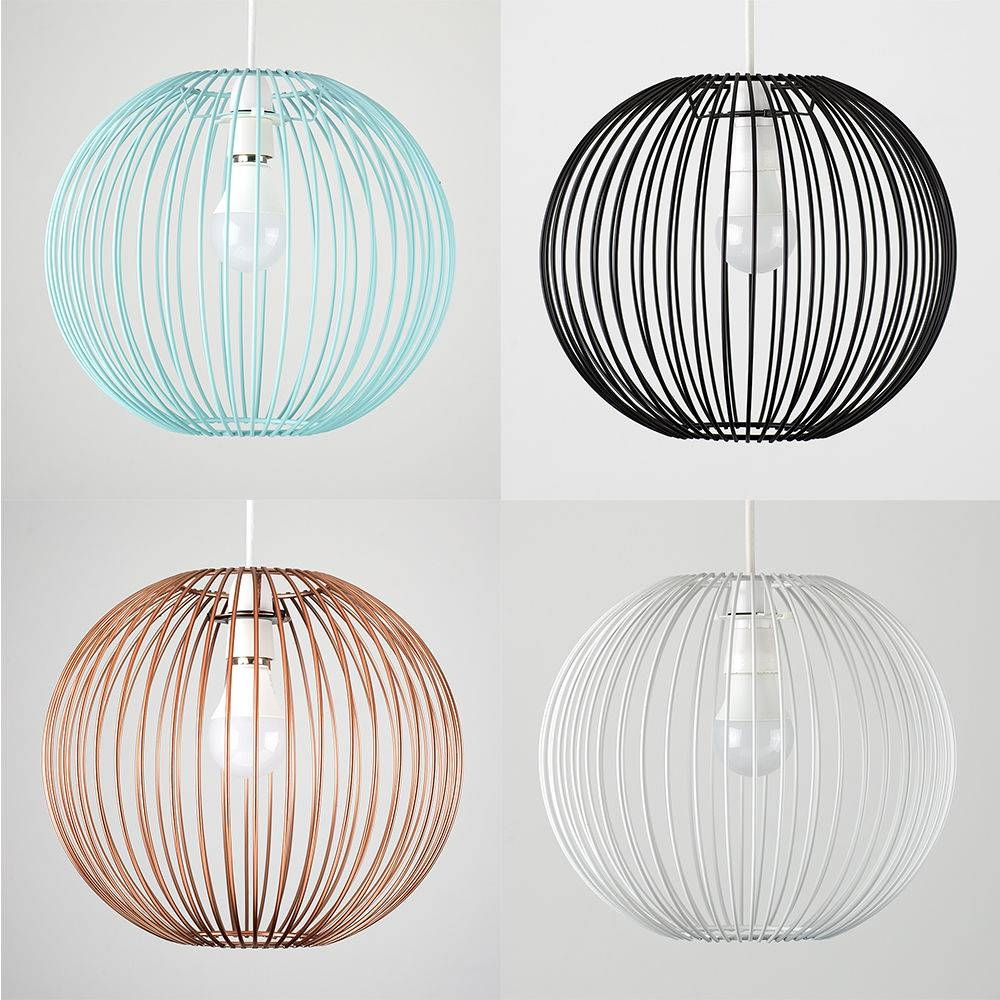 Light No Wiring | Ebay with regard to Wire Ball Lights Pendants (Image 8 of 15)
