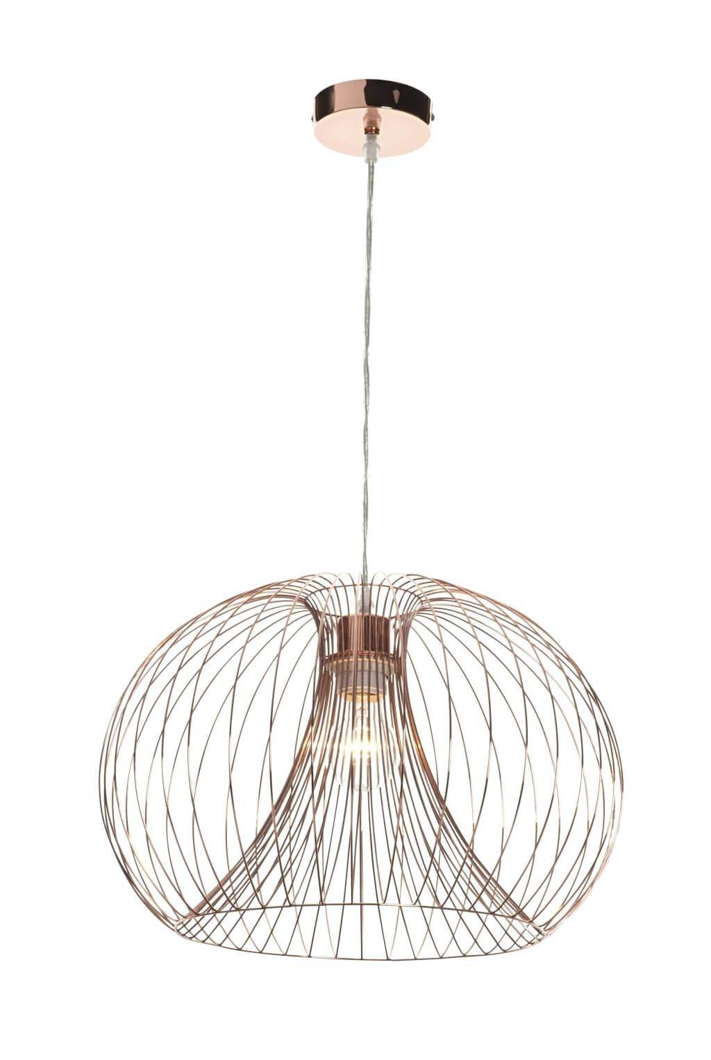 Lighting: Awesome Copper Pendant Light Fitting With Copper Wire Inside Corded Pendant Lights (View 7 of 15)