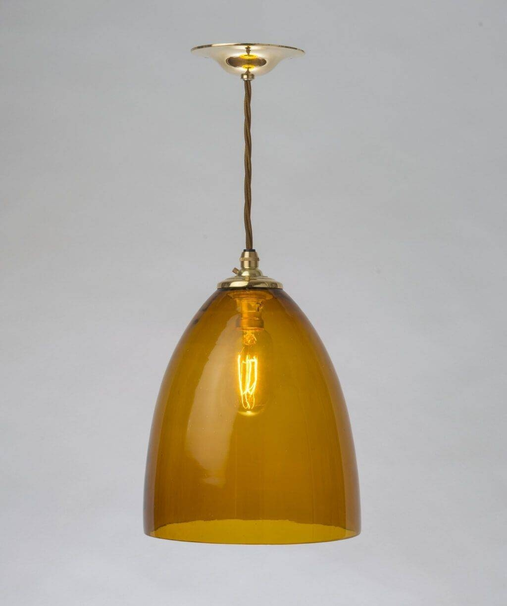 Lighting: Cheap Clear Glass Pendant Light Design - Glass Pendant regarding Murano Glass Mini Pendant Lights (Image 6 of 15)