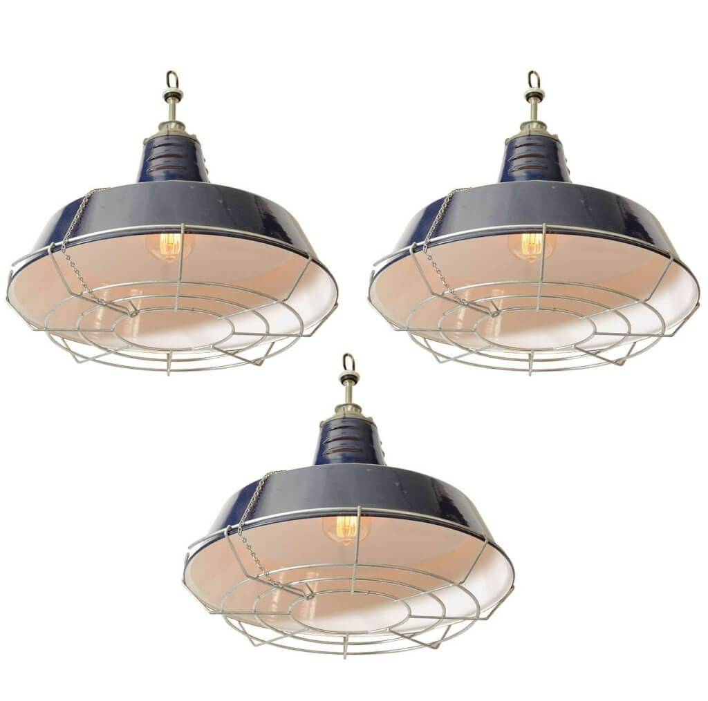 Lighting: Decorative Mini Industrial Pendant Light Design With within Navy Pendant Lights (Image 12 of 15)