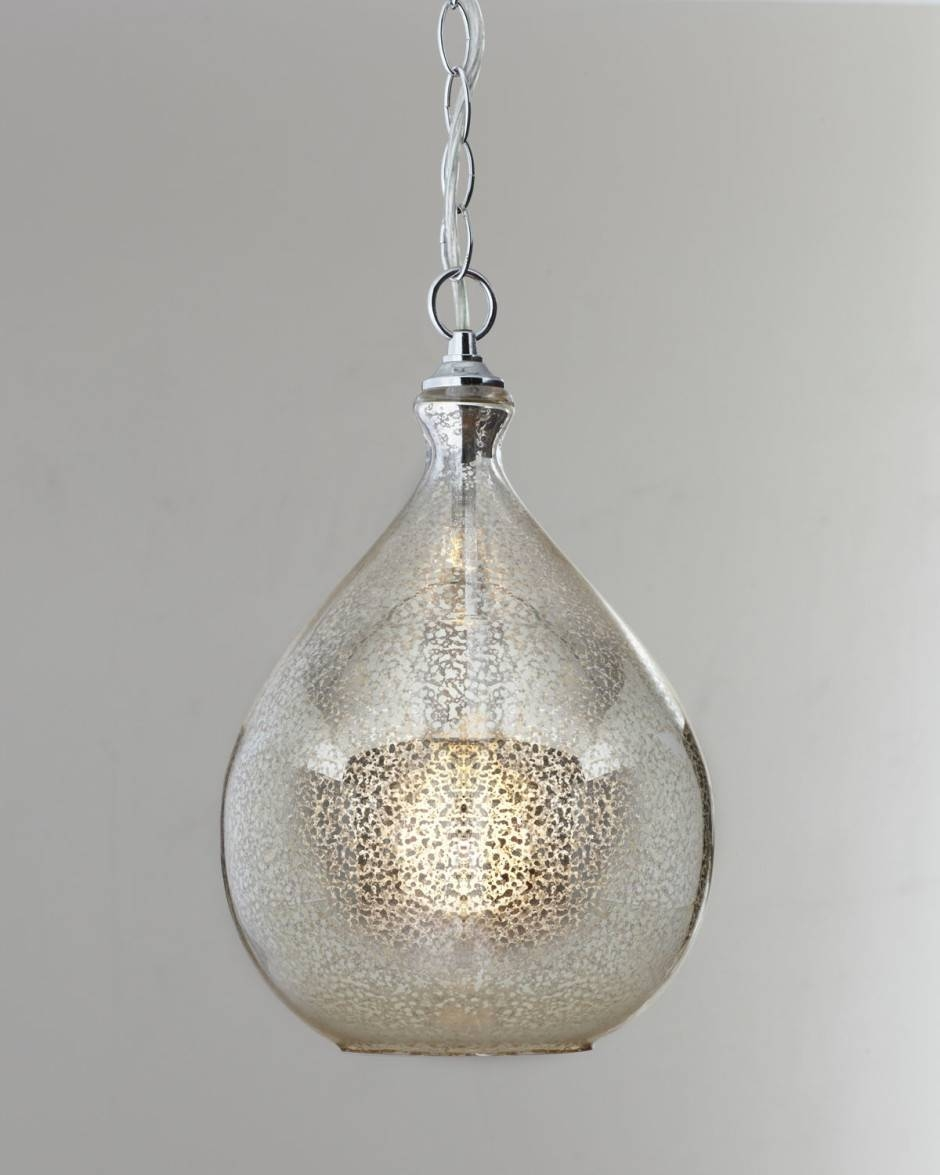 Lighting Design Ideas: Mercury Glass Pendant Light Fixture Mercury for Mercury Glass Pendant Lights Fixtures (Image 3 of 15)
