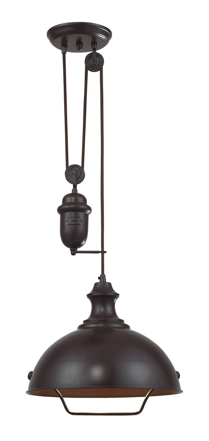Lighting Design Ideas: Pulley Pendant Light Fixture Pulley Ceiling With  Regard To Pulley Pendant Lighting