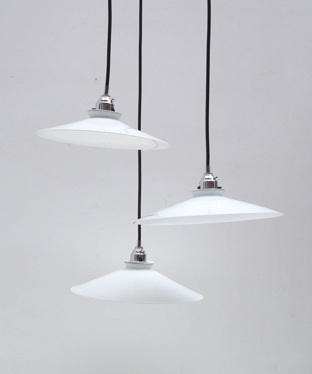 Lighting | Floral Hall Antiques – Crouch Hill London N8 9Dx Within French Glass Pendant Lights (Photo 1 of 15)