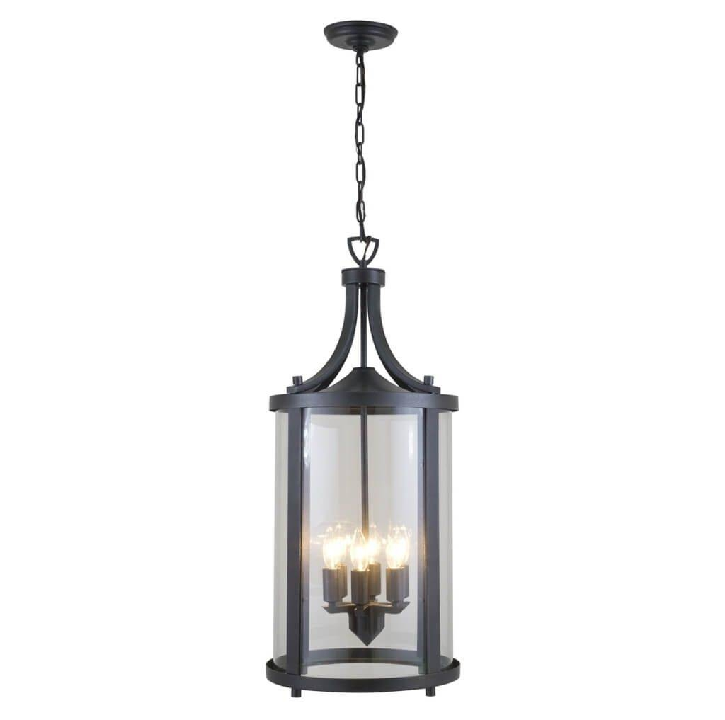 Lighting: French Style Metal Outdoor Hanging Pendant Lighting Throughout French Style Glass Pendant Lights (View 9 of 15)