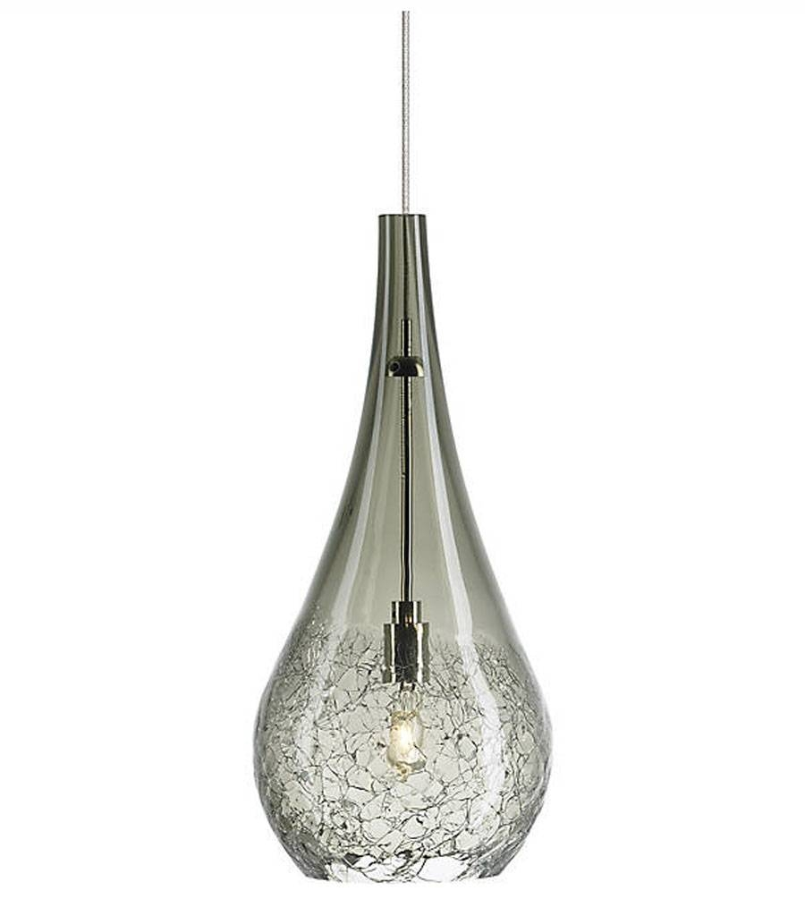 Lighting & Lamps: Fancy Lbl Lighting For Home Lighting Ideas In Crackle Glass Pendant Lights (View 6 of 15)