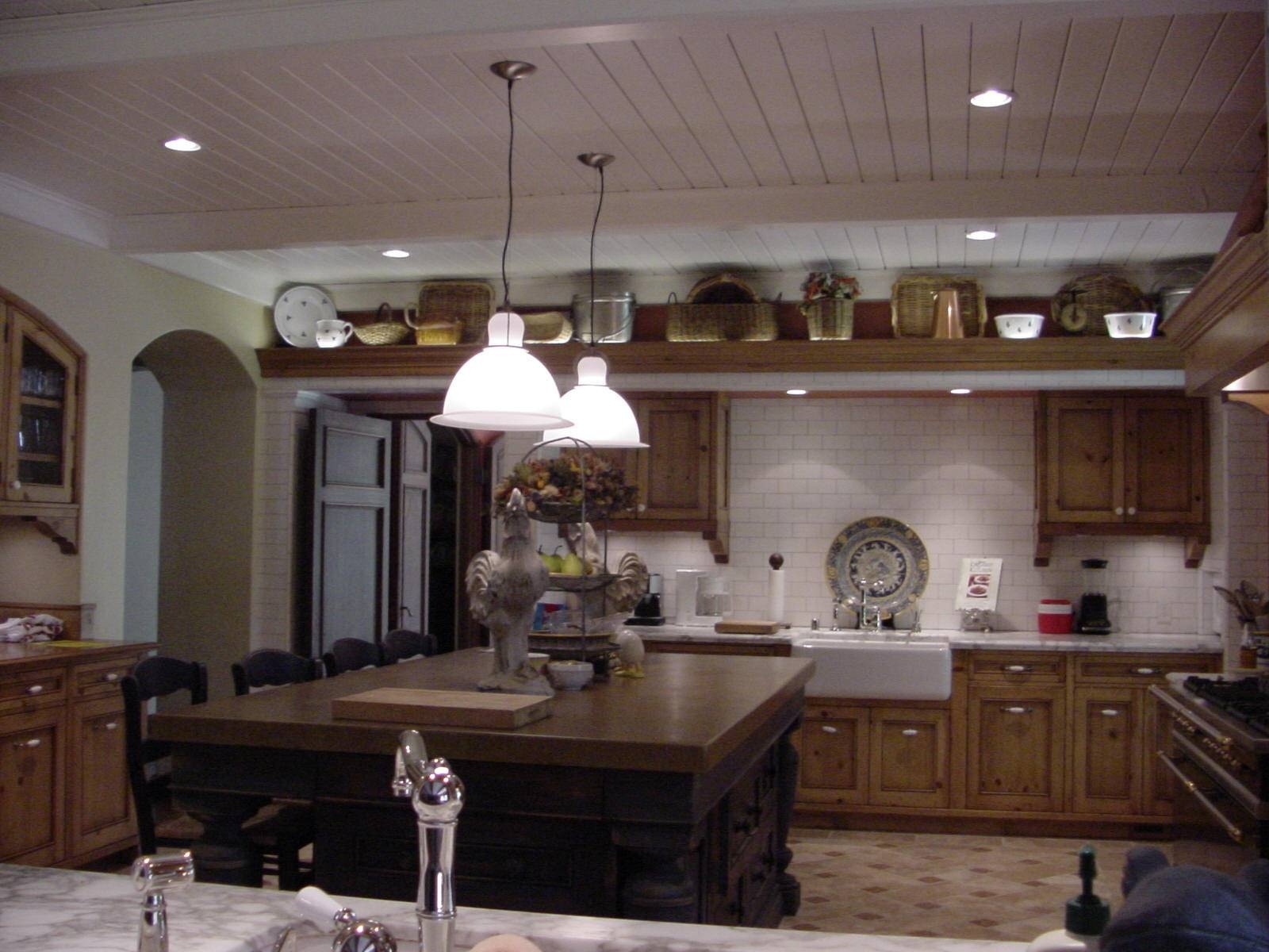 Lighting: Pendant Lighting For Kitchen With Decorative Ceiling With Stainless Steel Pendant Lights For Kitchen (View 9 of 15)