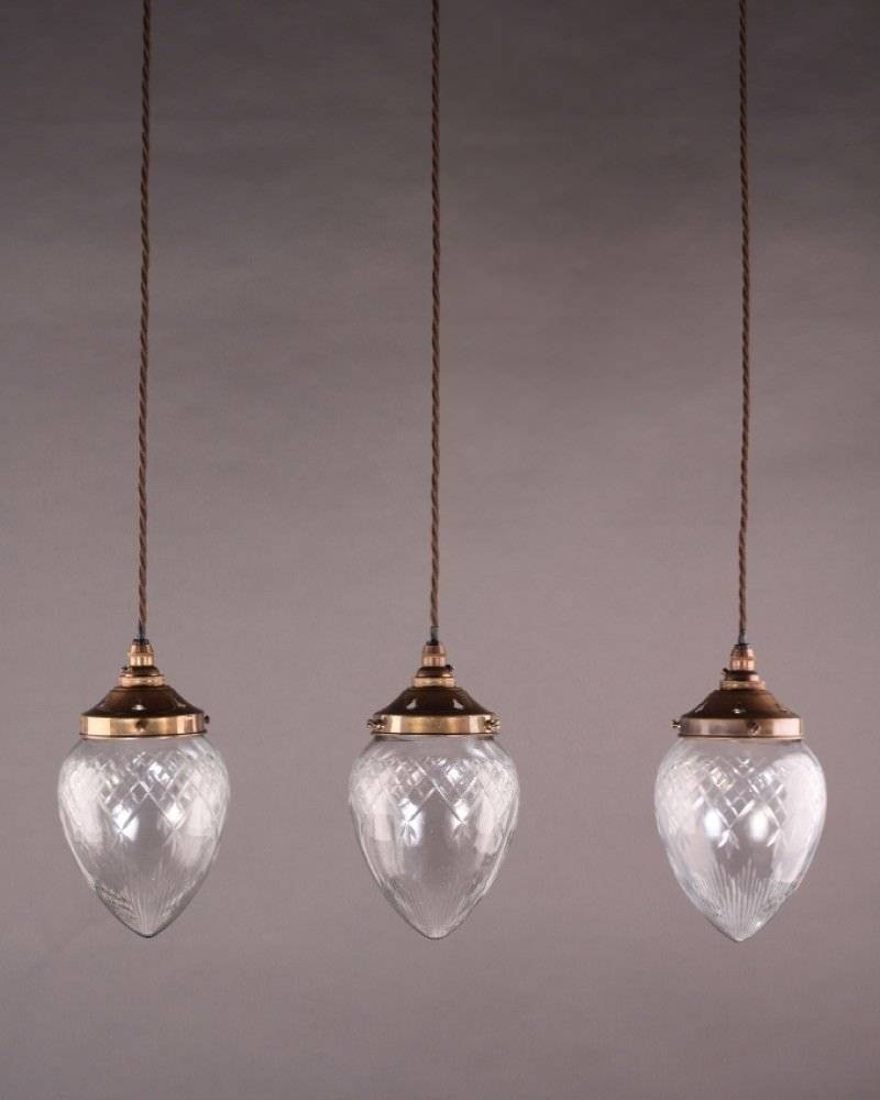 Lighting, Penyard Cut Glass Pendant Light pertaining to Edwardian Lamp Pendant Lights (Image 11 of 15)