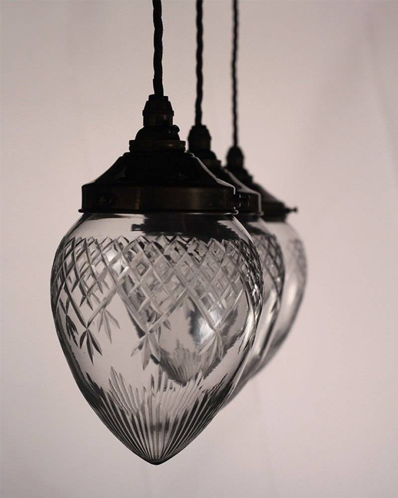 Lighting, Penyard Cut Glass Pendant Light with regard to Edwardian Lamp Pendant Lights (Image 12 of 15)