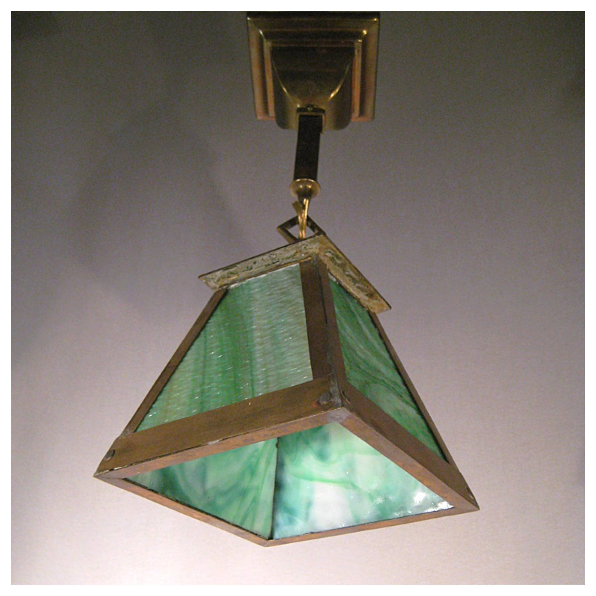 Lighting | Product Categories | Bogart, Bremmer & Bradley Antiques within Arts and Crafts Pendant Lights (Image 10 of 15)