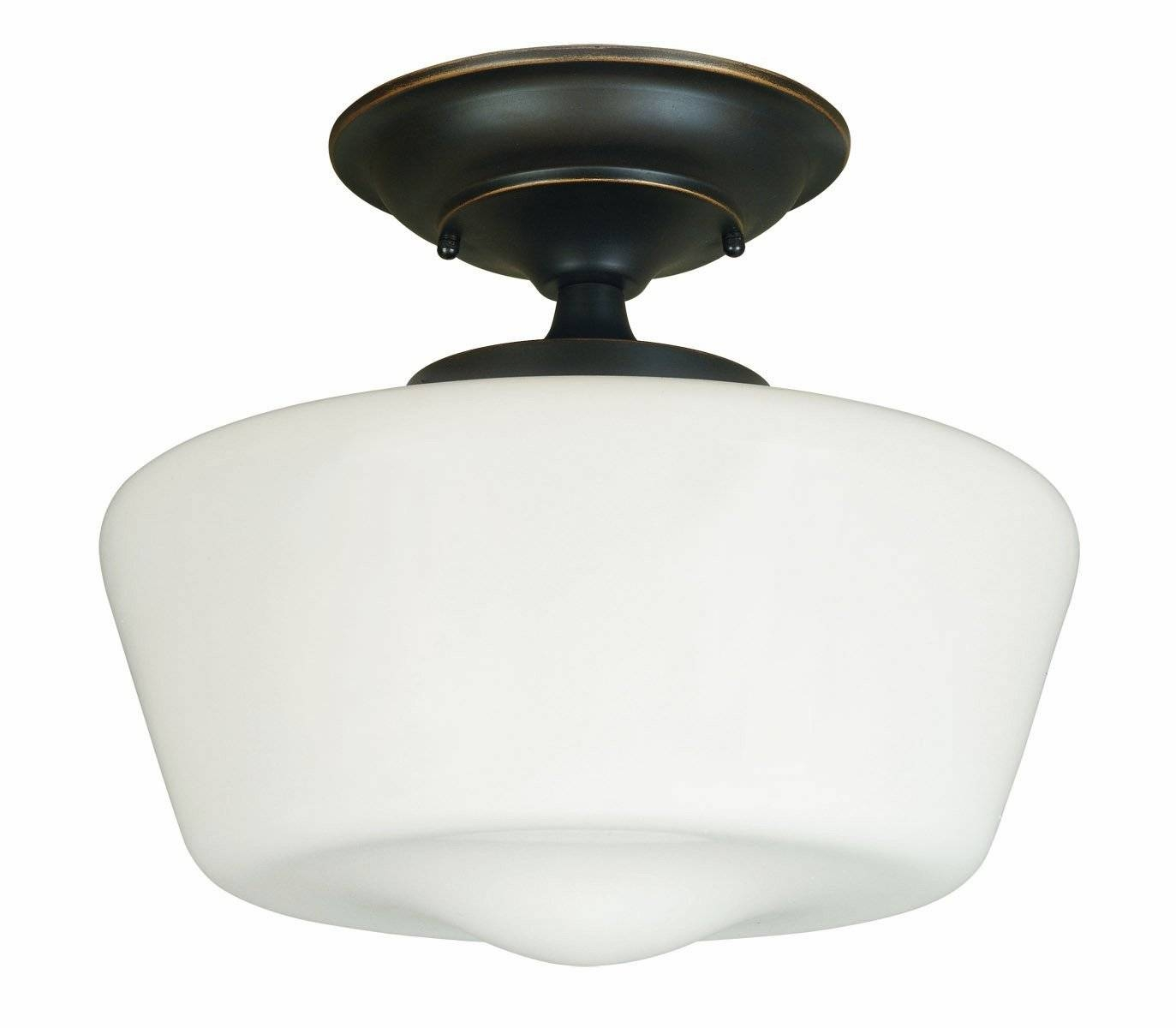 Lighting: Schoolhouse Lighting | Schoolhouse Pendant Light Brushed inside Schoolhouse Pendant Lights Canada (Image 7 of 15)