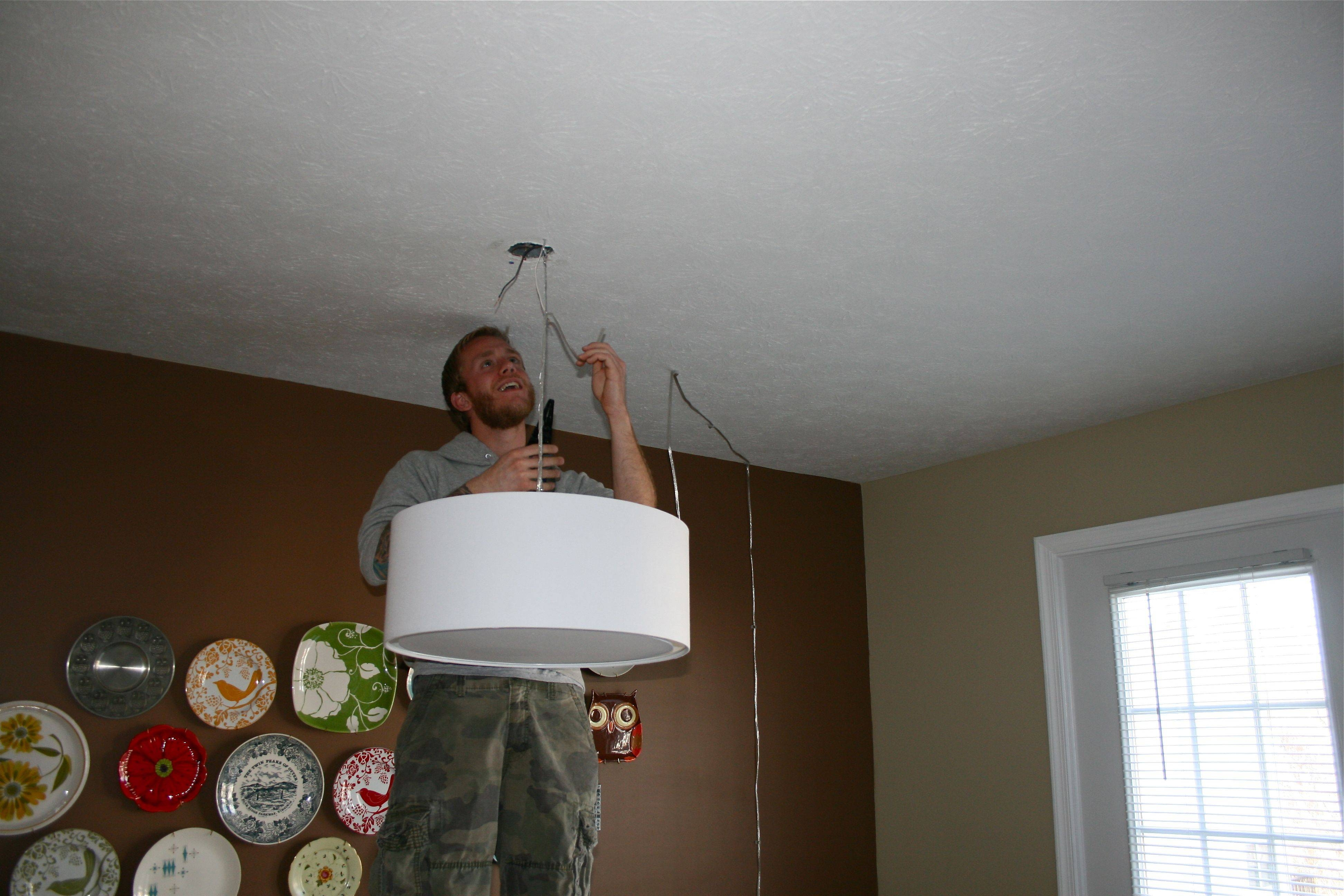 Lighting Things Up! - Dream Green Diy in Cb2 Lighting Pendants (Image 4 of 15)