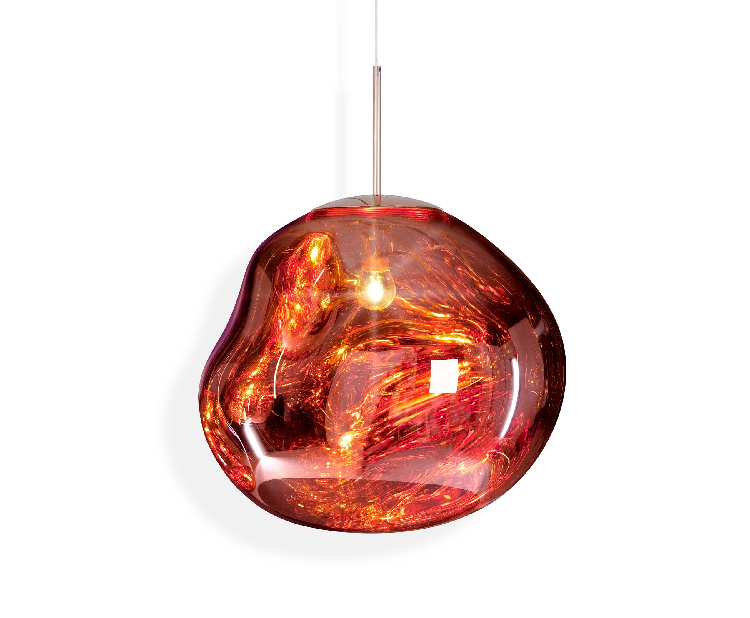 Lighting | Tom Dixon for Coloured Glass Lights Shades (Image 11 of 15)