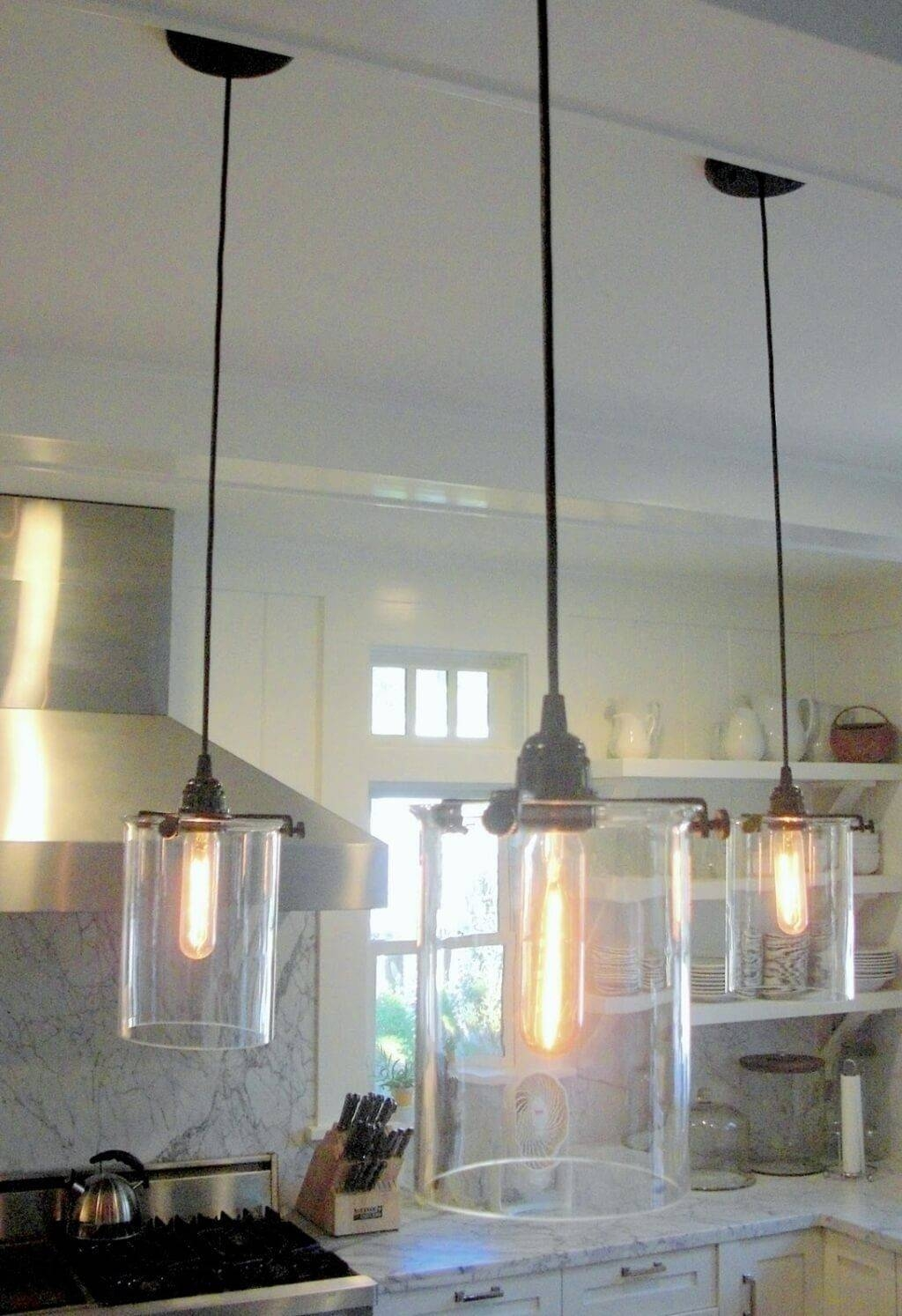 Lighting: Unique 3 Kitchen Pendant Lighting Fixture With Glass within Unique Mini Pendant Lights (Image 4 of 15)